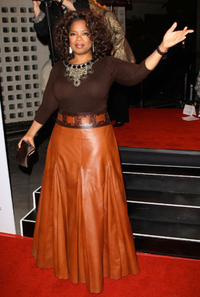 Celebrity anti ageing: Oprah