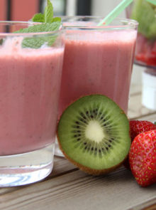 Herbalife's Strawberry And Kiwi Shake