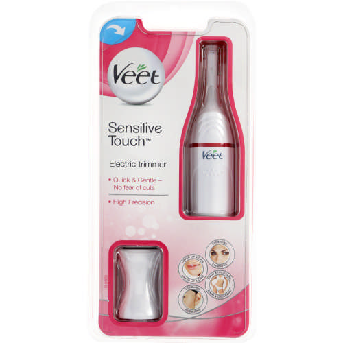 Facial hair removal: Veet Sensitive Touch Electric Trimmer