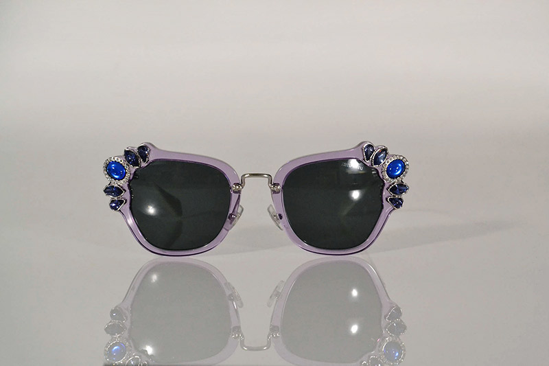 Sunglasses: Lilac embellished, from R4 890, Miu Miu at Sunglass Hut