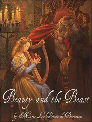book to film adaptations - Beauty and the Beast by Marie Le Prince of Beaumont