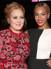 Adele and Beyoncé: The Grammy Awards Show-Down