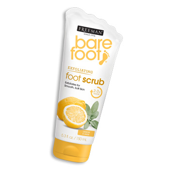 dry feet foot scrub