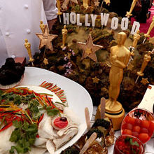 A Sneak Peek At The Oscars After Party Menu