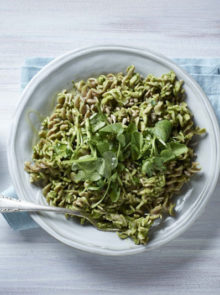 Sarah Graham's Chickpea Fusilli With Pesto Recipe