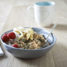 Sarah Graham's Coconut And Apple Overnight Oats Recipe