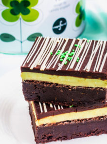 Mint Medley And Chocolate Ganache Brownie Recipe