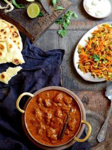 Lamb Curry With Mango Atchar Recipe