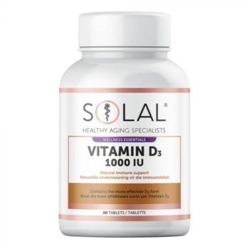 Solal Vitamin D3 1000 Iu