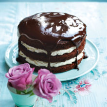 Chocolate Cake With Passion Fruit And Lime Recipe