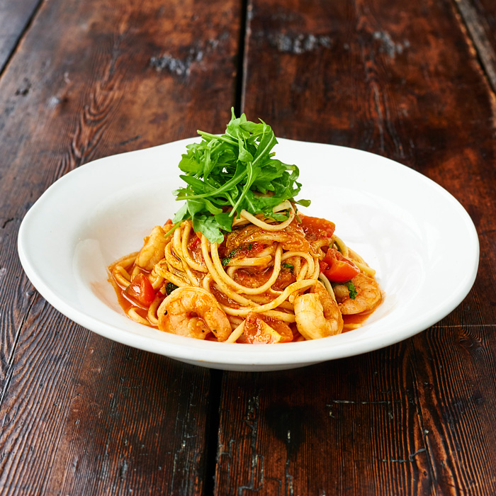 Jamie Oliver's Prawn Linguine Recipe