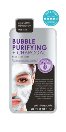 weird beauty products that work_charcoal foam mask