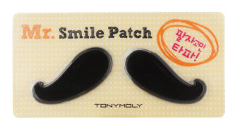 weird beauty products that work_mr smile patch tony moly
