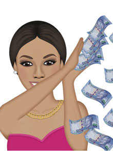 The Celebrity Emoji Trend Hits SA As Bonang Announces Bmoji Launch