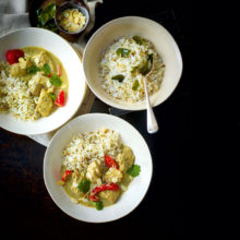 Creamy Chicken And Coconut Curry Recipe