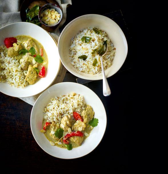 Creamy chicken curry recipe - Thai-style