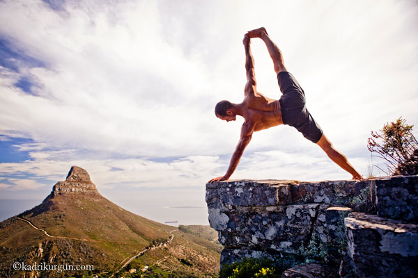 yoga for beginners advice from jim harrington