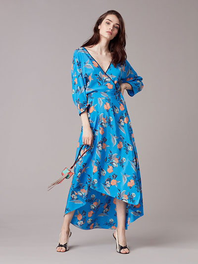 wrap dresses online DVF original design