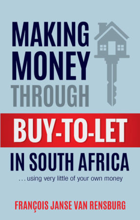 finance tips from author of Making Money Through Buy-to-Let in South Africa