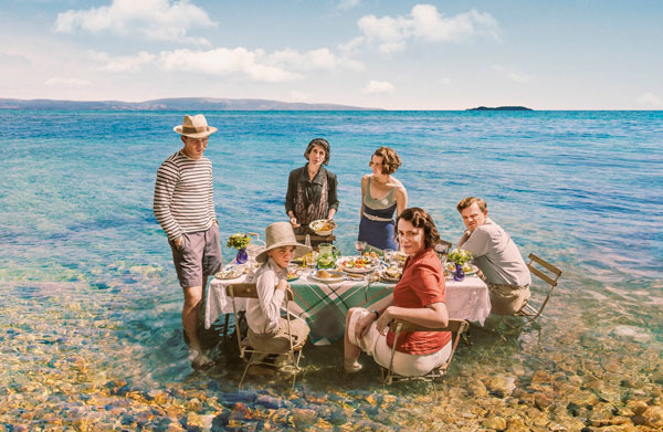 The Durrells cast in Corfu