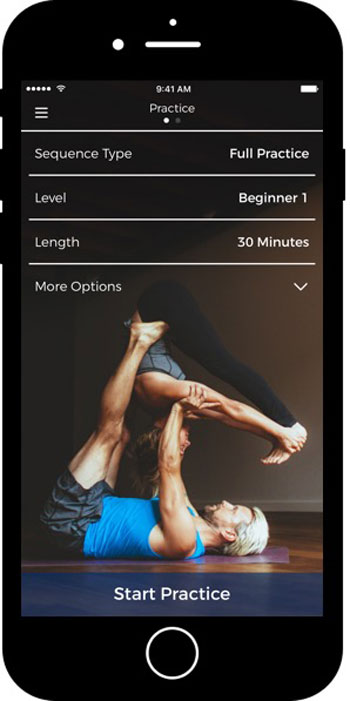 offline apps - yoga down dog