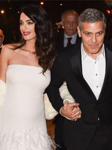 George Clooney And Wife Amal's Newborn Twins' Names Revealed