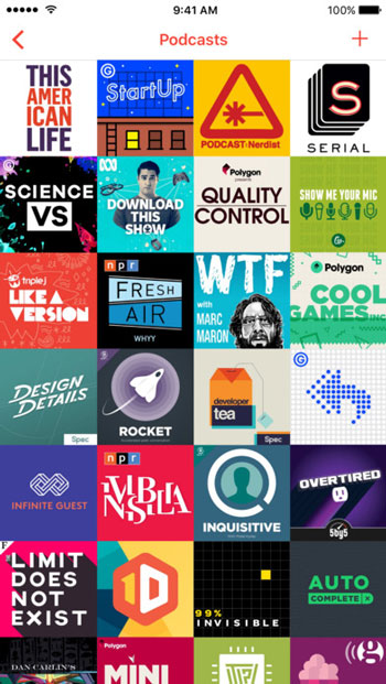 offline apps - Pocket Casts - perfect download for podcast lovers