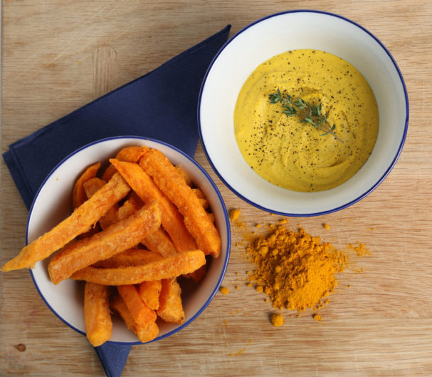 flu fighting recipes turmeric hummus