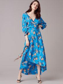 wrap dresses online DVF design