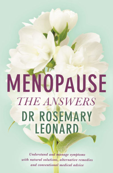 a dealing with menopause guide by Rosemary Leonard