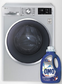 Win 1 Of 4 LG 2.0 Titan Washing Machines Worth R6999 Plus 3 Months' Supply Of OMO Auto!