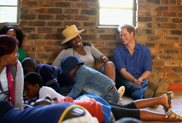Prince Harry's royal tv shows about his visit in Africa
