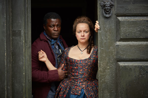 Harlots actress Samantha Morton