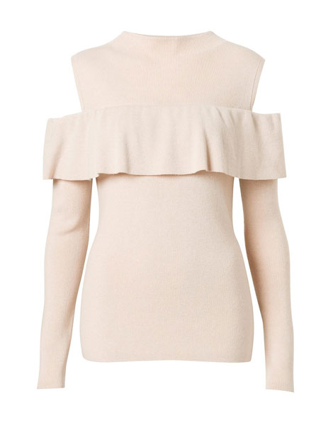 winter jerseys - cold shoulder knit from Witchery at Woolworths