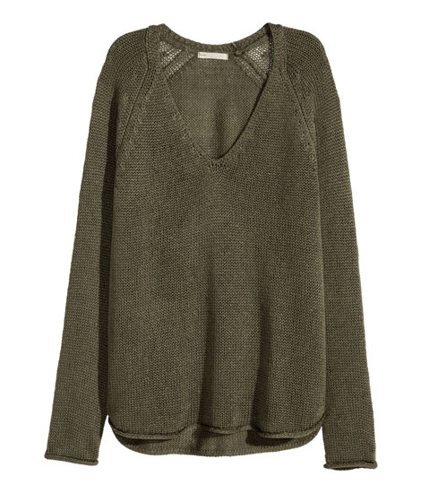 winter jerseys - oversized jumper from H&M