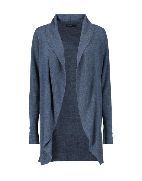 winter jerseys - long cardigan from David Jones at Woolworths