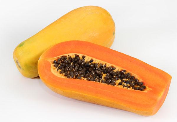get rid of facial hair with papaya and turmeric