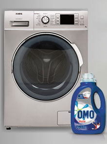 Win an AEG Lavamat Washing Machine Worth R6 999, Plus A 3 Month Supply Of Omo Auto!