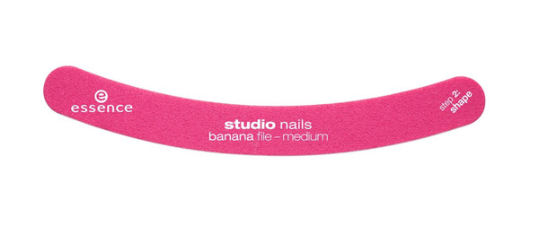 Pampered feet: essence studio nails banana file