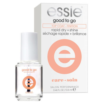 Pampered Feet: Essie good to go top coat