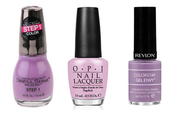 nail trends lilacs