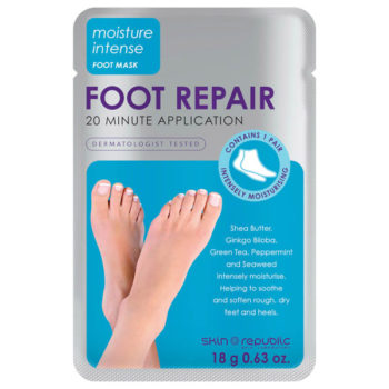 Pampered feet: Skin Logic Foot Rescue Mask