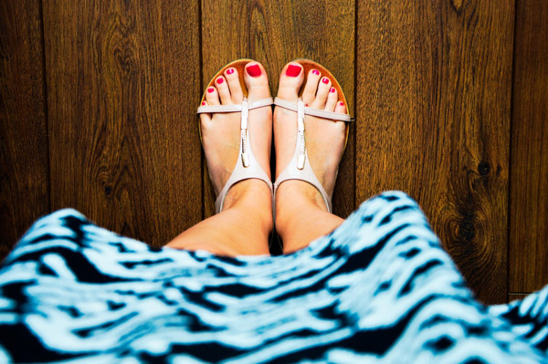 Pampered Feet: Beauty