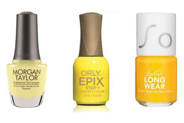 nail trends yellows