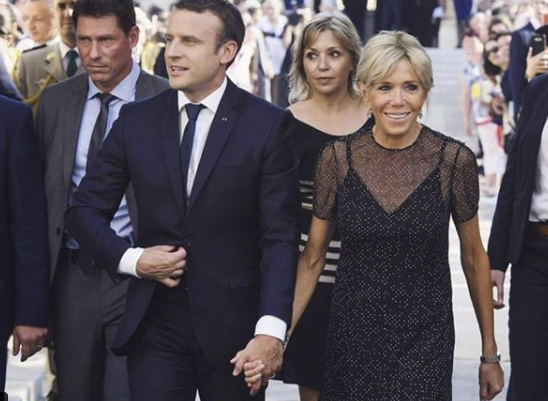 Get The Look: French First Lady Brigitte Macron