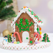 gingerbread house featured
