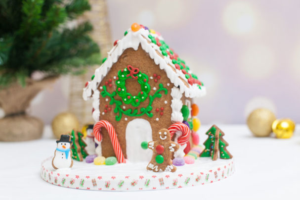 Tessa's Gingerbread House
