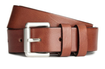 Gift guide: Leather belt
