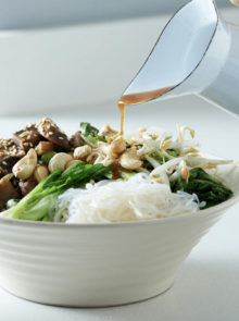Sarah Graham's Veggie Asian Bounty Bowl