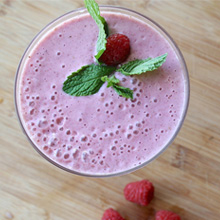 fruit smoothie featured